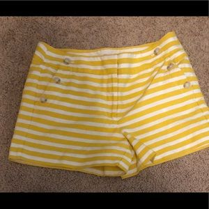 LOFT Shorts - Loft sailor striped shorts